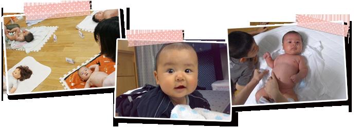 赤ちゃん親子写真
